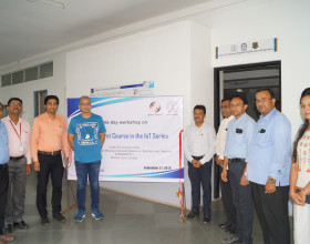 Conducted Workshop on eSim: A First Course in the IOT Series