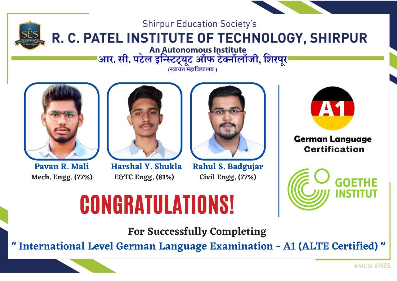 German Language Certified