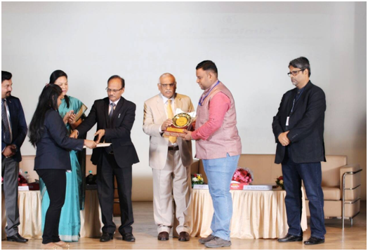 Awarded 'Excellent Researcher Award 2018 in Research Excellence and Academic Awards ' held at N. L. Dalmiya College of Management Studies, Mumbai on 10th March, 2018 by CSERD, Dehradun, UK, India.